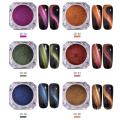 Camaleão 3D pó magnético / olhos de gato pigmentos para cosméticos, unha polonês / arte, sombra, maquiagem etc