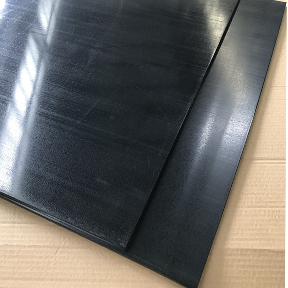 Black PEEK sheets virgin