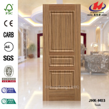 Evagination Teak Veneer Door Panel