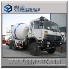 6cbm Dongfeng Concrete Mixer Truck 6X4 Mixer Truck