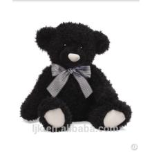 Maßgeschneiderte Plüschtiere benutzerdefinierte gefüllte Tiere schwarz Bär Spielzeug