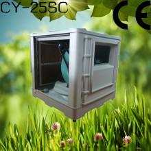 Испарительный охладитель 25000 м3 / ч для центробежного воздушного охладителя