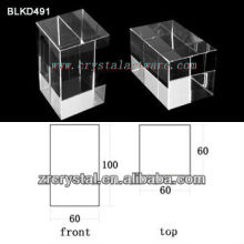 K9 Cristal blanco de alta calidad de grabado del Laser 3D