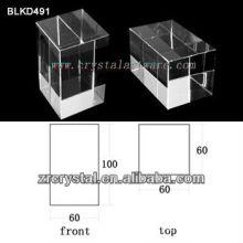 K9 Cristal em branco de alta qualidade para gravação a Laser 3D