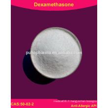 Haute pureté Dexaméthasone en poudre (50-02-2)
