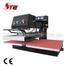 Shaking Head Pneumatic Double Station Rinestone Heat Transfer Machine