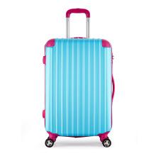 El material durable ABS carretilla empaqueta el equipaje de lujo de la carretilla del viaje de la moda