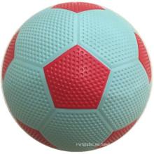 Superficie de golf de caucho colorido de fútbol