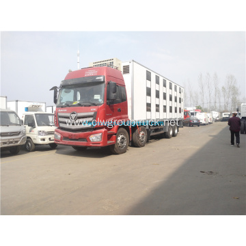 Foton 9.5m refrigerated truck for frozen meat
