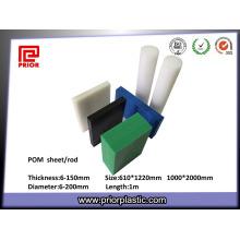 Panneau en plastique Delrin POM de haute qualité