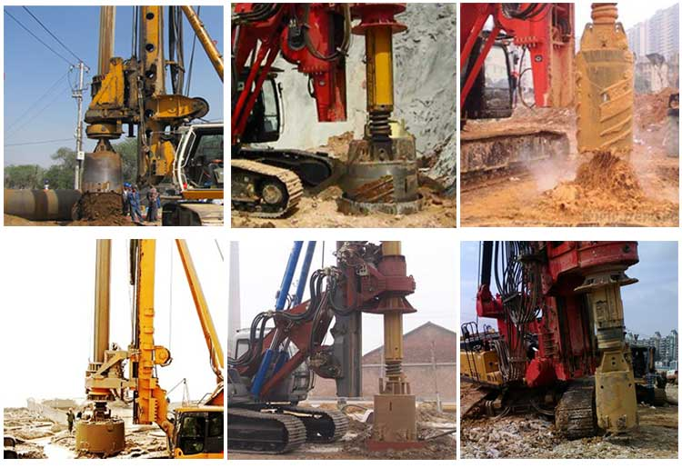 Piling Digging Rig Core Barrel
