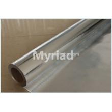 Aluminiumfolie gewebte Stoffe, Folienisolierung, reflektierende und silberne Dachmaterialien Aluminiumfolie konfrontiert Laminierung