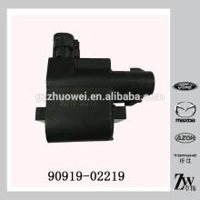De alta qualidade Toyota ignição bobina da China Fornecedor 90919-02219