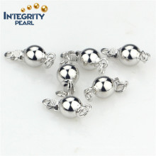 8mm Ball 925 Sterling Silver Pearl Jewelry Fine Clasp