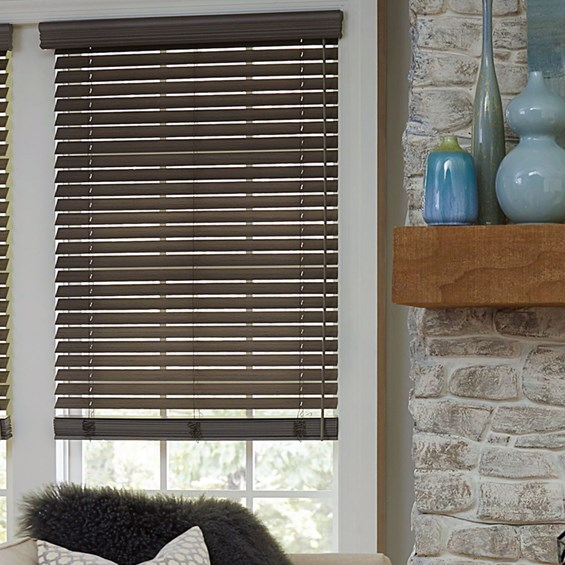 Motorized Fauxwood Blinds