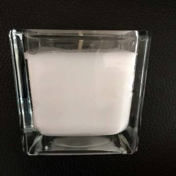 Soy Wax Square Glass Jar Oil-doftljus