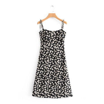 Femmes Casual Sling Dress Sexy