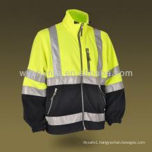 Hi Vis Safety Fleece Jacket