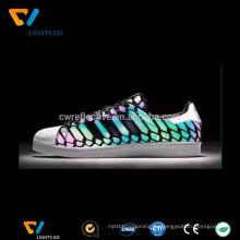 Стрейч горячего расплава клейкая пленка TPU для светоотражающая ткань или обувь