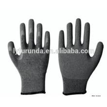 Gants en polyester de calibre 13 avec des gants de travail anti-statique en gaine revêtus de PU