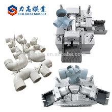 Nouveaux produits en plastique faisant le processus de fabrication de moulage par injection de moulage de tuyau de PVC Manfacture