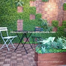 High quality 3 pieces Acacia Wood Bistro /coffee garden sets