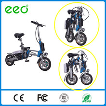 Bicyclette électrique pliante à 12 po pliante à vélo avec CE