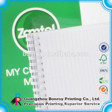 recycle paper spiral notebook/exercise book/notepad