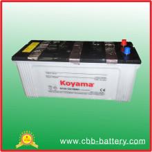 A venda quente 12V 150ah seca a bateria carregada do padrão N150 da bateria de carro JIS de carro