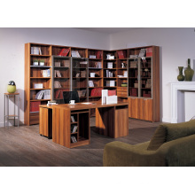 Custom Bookcase with Computer Desk Made in China