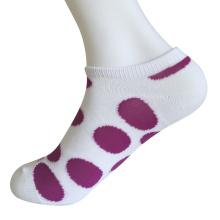 Medio cojín poli moda no mostrar grandes calcetines círculo (jmpn05)