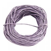 cuerda de papel trenzado de color púrpura