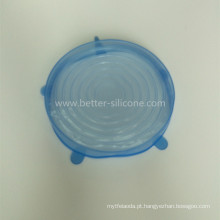 Tampa de vedação de vidro de silicone para alimentos