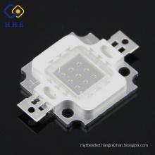 guangdong shenzhen led 10W UV LED diode 360nm 370nm 380nm 390nm 400nm UV LED 410nm 420nm UV 1w LED chip/diode
