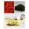 Té de hojas de Goji seco, hojas de nísperos, Wolfberry folium, folia de Berbería