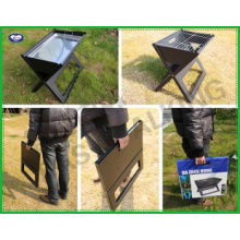 Tragbarer Holzkohlegrill für Outdor Barbecue Camping