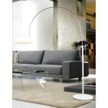 Modern White Drawing Room Arc Floor Lamp (ML20160-1)