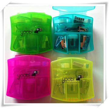 Büro Kunststoff Mini Hefter Set für Werbegeschenk (OI18043)