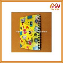 Notebook de papel barato da China A5
