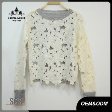 Frauen Special Sweet Hollow Sweater