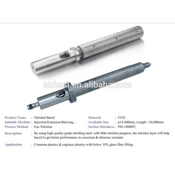 Máquina de injeção nitrded screw barrel