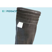 Sac de filtre de collecte de poussière de 750 G / m2 Filtre de sac de fourche de plante de ciment