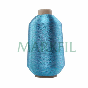 MX Sparkle Yarn couleur or pour le tissage