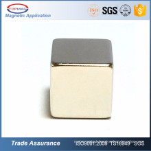 Sintered Permanent neo neodymium ndfeb cube magnet