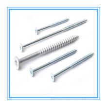 Csk Head Zinc Plated Chipboard Screw (DIN7505)
