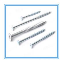 Parafuso de aglomerado de chapas galvanizado com cabeça Csk (DIN7505)
