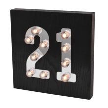 Lumière LED d'âge pour décoration intérieure