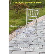 Restaurante de cristal chiavari tiffany silla