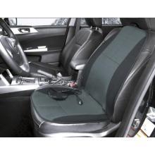 Almofada do assento de carro da massagem do calor preto com terapia lombar