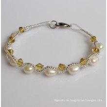Günstige Fanncy Süßwasser Perle Armband (EB1511-1)